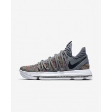 798QORJK Nike Zoom KDX Basketball Shoes For Women Multi-Color/Cool Grey/White/Black