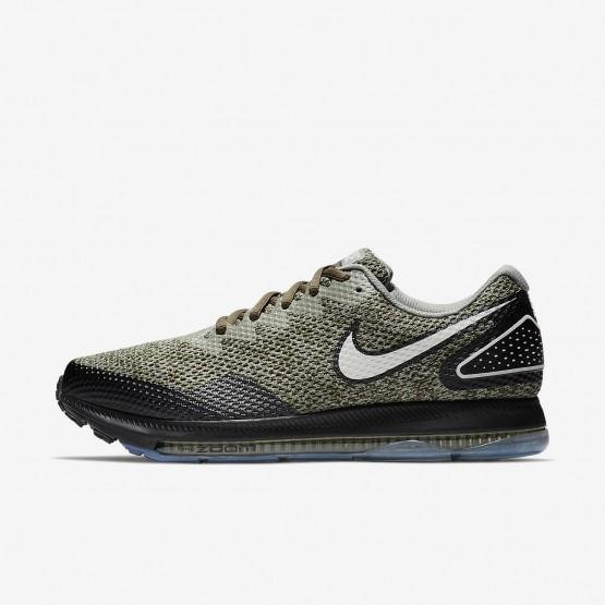 814MWUPS Miesten Juoksukengät Nike Zoom All Out Khaki/Mustat/Vaalean