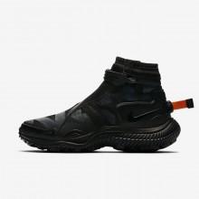 818VNFEO Zapatillas Casual Nike Gaiter Hombre Negras/Naranjas