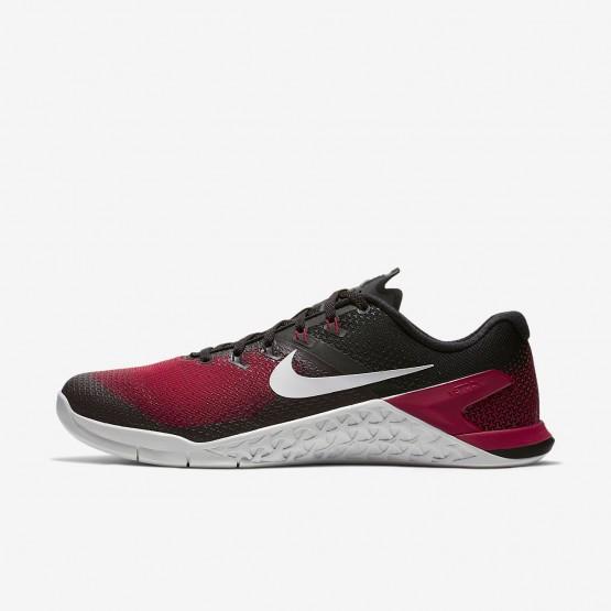 830NWFBX Nike Metcon 4 Training Shoes For Men Black/Hyper Crimson/Habanero Red/Vast Grey