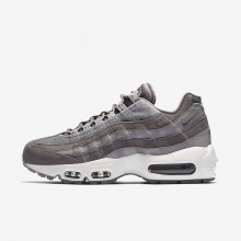 835PWFND Nike Air Max 95 Lifestyle Shoes For Women Gunsmoke/Atmosphere Grey/Summit White