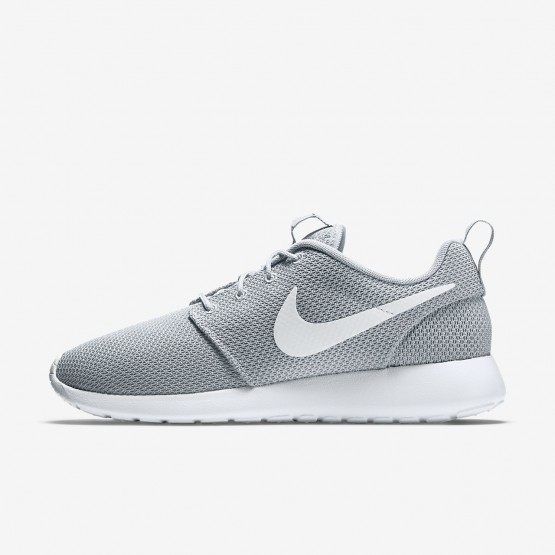 841QGSRP Nike Roshe One Lifestyle Shoes For Men Wolf Grey/White
