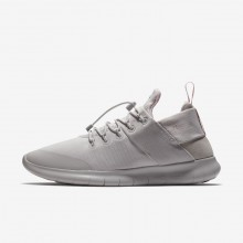 842WJZTF Nike Free RN Running Shoes For Women Vast Grey/Arctic Pink