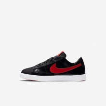 843OZDGF Nike Blazer Lifestyle Shoes For Girls Black/Bleached Coral/Speed Red
