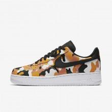 846TVIZB Nike Air Force 1 Lifestyle Shoes For Men Team Orange/Circuit Orange/Light Orewood Brown/Black
