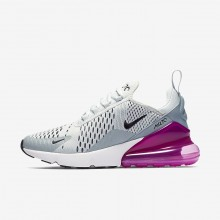 854ZGQLK Nike Air Max 270 Lifestyle Shoes For Women Barely Grey/Light Pumice/Fuchsia Blast/Black