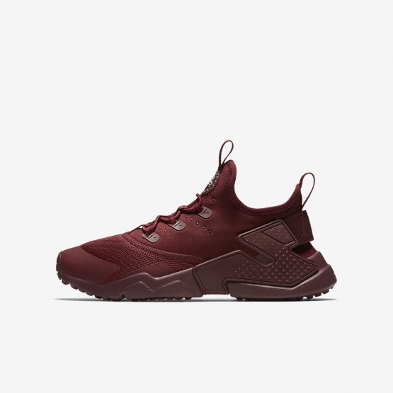 856IGPNM Nike Huarache Lifestyle Shoes For Boys Team Red/White