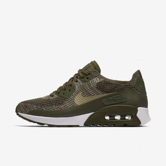 867PSCZF Nike Air Max 90 Lifestyle Ayakkabı Bayan Haki/Beyaz/Zeytin Yeşili