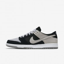 869QETLX Zapatillas Skate Nike SB Dunk Hombre Negras/Blancas/Gris