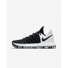 871MFNQD Nike Zoom KDX Basketball Shoes For Women Black/White