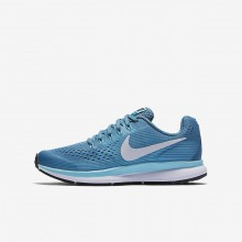 872UFIWJ Nike Zoom Pegasus Running Shoes For Girls Noise Aqua/Bleached Aqua/Green Abyss/White