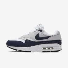 872VLCYU Nike Air Max 1 Lifestyle Shoes For Women White/Pure Platinum/Black/Obsidian