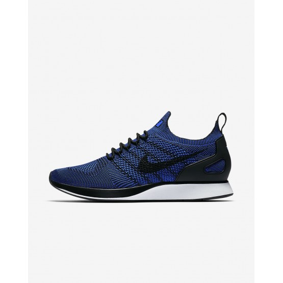 883CQHUD Nike Air Zoom Lifestyle Shoes For Men Black/White/Racer Blue