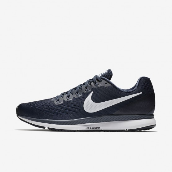 885ADWKR Nike Air Zoom Running Shoes For Men Obsidian/Thunder Blue/Black/White