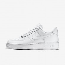 889IUDLZ Nike Air Force 1 Lifestyle Shoes For Women White