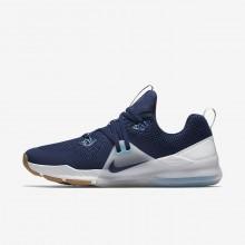895ODWQF Nike Zoom Train Command Treningssko Herre Blå/Platina/Hvite