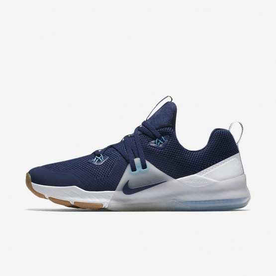 895ODWQF Nike Zoom Train Command Training Shoes For Men Binary Blue/Pure Platinum/White