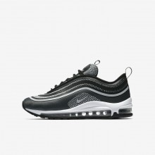 899YXJAW Nike Air Max 97 Lifestyle Shoes For Boys Black/Anthracite/White/Pure Platinum