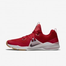 909IMVKB Nike Zoom Train Command Training Shoes For Men Gym Red/Vast Grey/Gum Medium Brown/Deep Burgundy