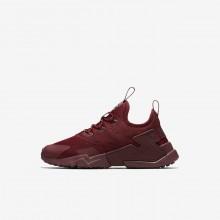 913OWCDR Nike Huarache Livsstil Sko Gutt Rød/Hvite