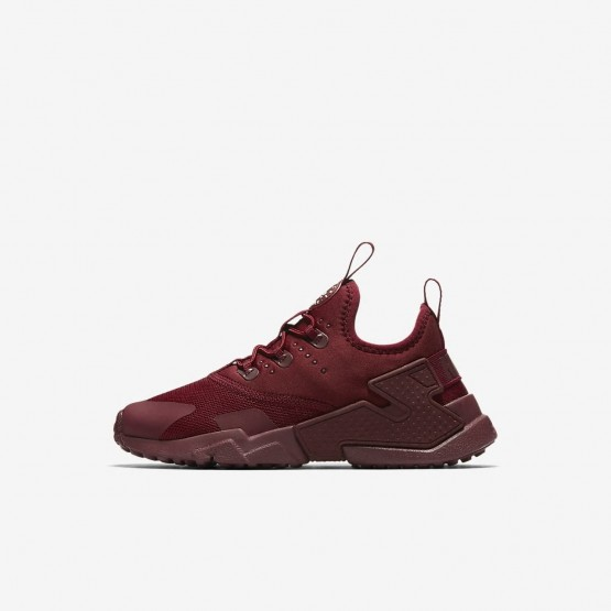 913OWCDR Nike Huarache Lifestyle Shoes For Boys Team Red/White