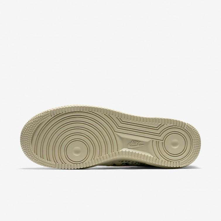 Nike Air Force 1 Sko Salg, Nike Livsstil Sko Herre GullGull