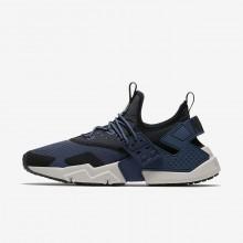 934XJTLM Nike Air Huarache Lifestyle Shoes For Men Thunder Blue/Black/White/Desert Sand