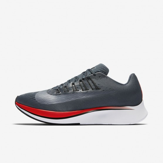 942YUEGN Nike Zoom Fly Running Shoes For Men Blue Fox/Bright Crimson/University Red/Black