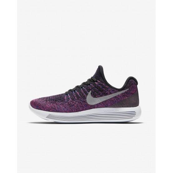 946UGVRY Naisten Juoksukengät Nike LunarEpic Low Mustat/Metal Hopea