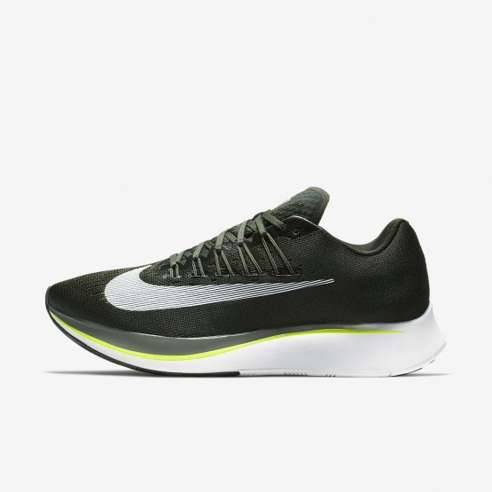 950KJYDW Nike Zoom Fly Running Shoes For Men Sequoia/Medium Olive/Dark Stucco/White
