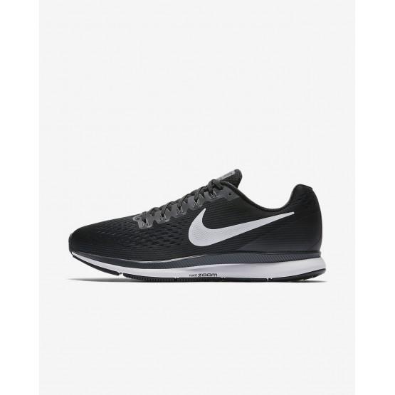 976NLURM Nike Air Zoom Koşu Ayakkabısı Erkek Siyah/Koyu Gri/Beyaz