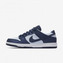 987YVTML Zapatillas Skate Nike SB Dunk Hombre Azules/Azules/Rojas Oscuro