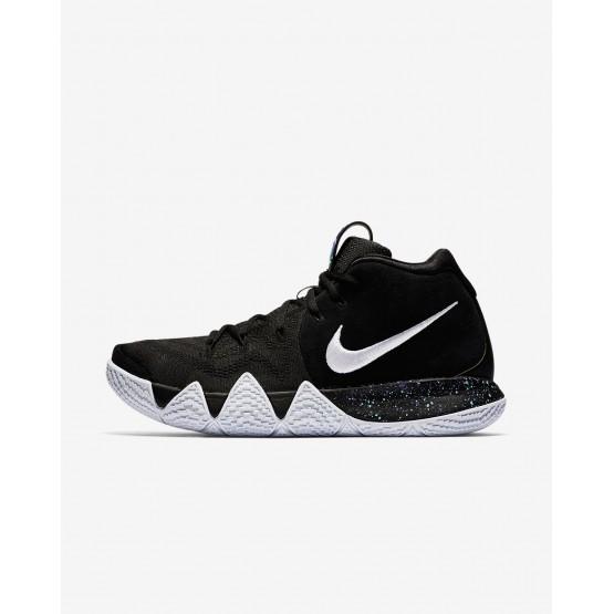 996ZUQKC Nike Kyrie 4 Basketball Shoes For Men Black/Anthracite/Light Racer Blue/White